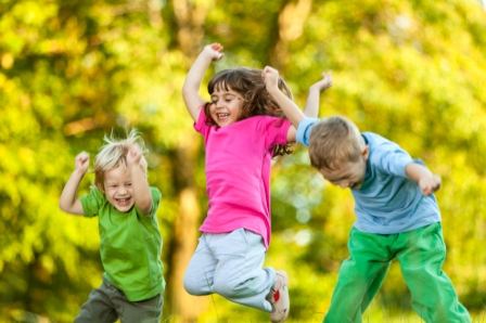 children-playing-in-spring